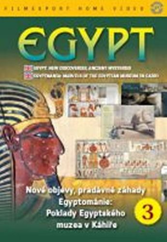 Egypt: Nové objevy, pradávné záhady 3. - DVD digipack cena od 86 Kč