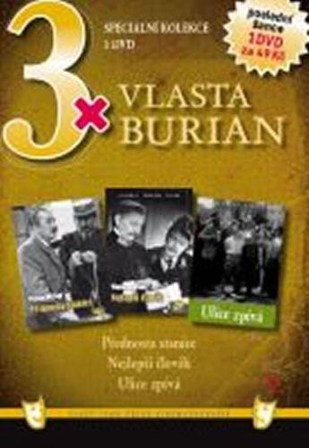 3x DVD - Vlasta Burian V. cena od 106 Kč