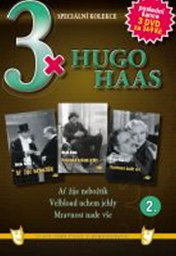 3x DVD - Hugo Haas II. cena od 106 Kč