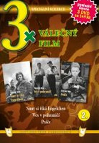 3x DVD - Válečný film 2. cena od 73 Kč
