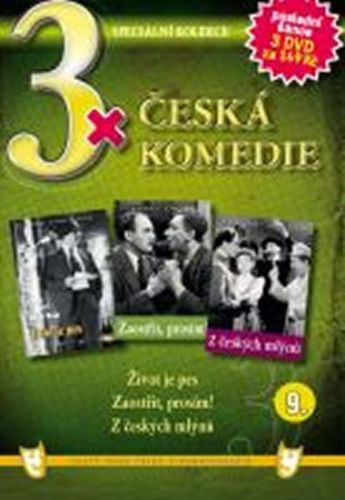 3x DVD - Česká komedie 9. cena od 106 Kč