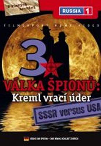 Válka špiónů: Kreml vrací úder 3. - SSSR versus USA - DVD digipack cena od 73 Kč