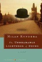 Kundera Milan: Unbearable Lightness of Being cena od 359 Kč