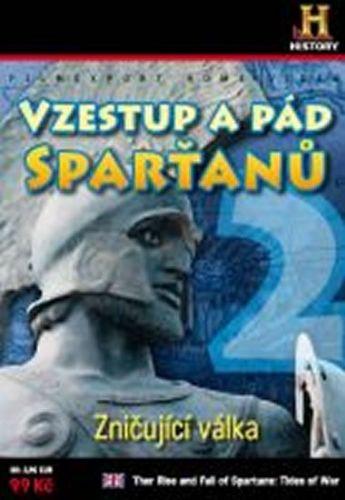 Vzestup a pád Sparťanů 2. - Zničující válka - DVD digipack cena od 85 Kč