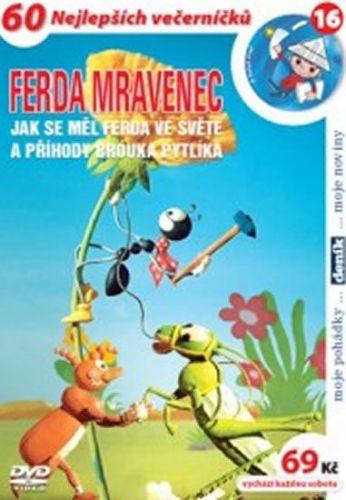 Ferda mravenec: Jak se měl ve světě - DVD cena od 51 Kč
