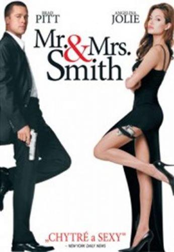Pan a paní Smithovi - DVD cena od 56 Kč