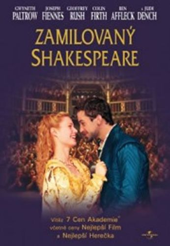 Zamilovaný Shakespeare - DVD cena od 58 Kč