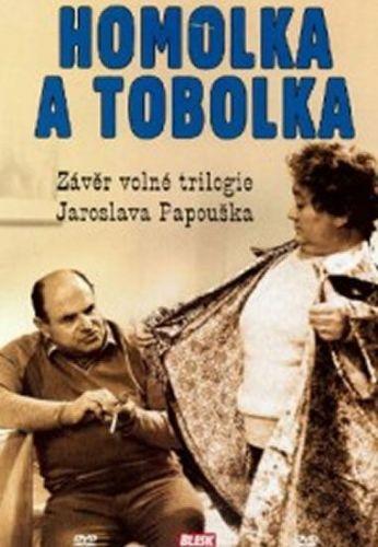 Papoušek Jaroslav: Homolka a tobolka - DVD cena od 47 Kč