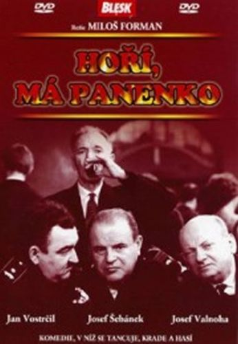 Forman Miloš: Hoří, má panenko - DVD cena od 32 Kč