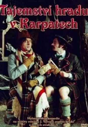 Lipský Oldřich: Tajemství hradu v Karpatech - DVD cena od 51 Kč