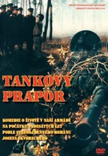 Škvorecký Josef: Tankový prapor - DVD cena od 49 Kč