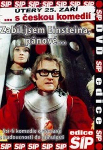 Lipský Oldřich: Zabil jsem Einsteina, pánové - DVD cena od 51 Kč