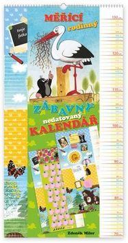 Krteček - měřící rodinný zábavný nedatovaný kalendář cena od 152 Kč