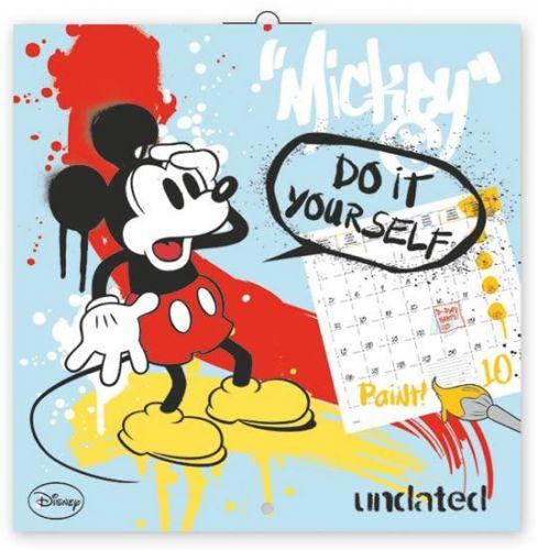 W. Disney Mickey Mouse - omalovánkový, poznámkový kalendář, 30 x 30 cm cena od 116 Kč