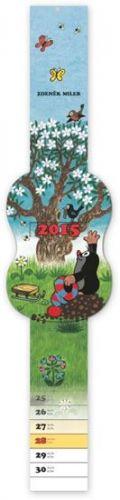Krteček kalendář s posuvným ukazatelem dne, 2015, 5,7 x 48 cm cena od 77 Kč