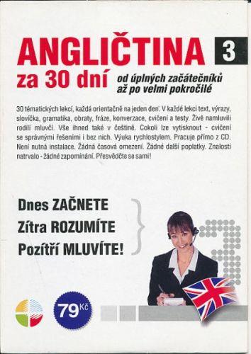 CD Angličtina za 30 dní 3 cena od 79 Kč