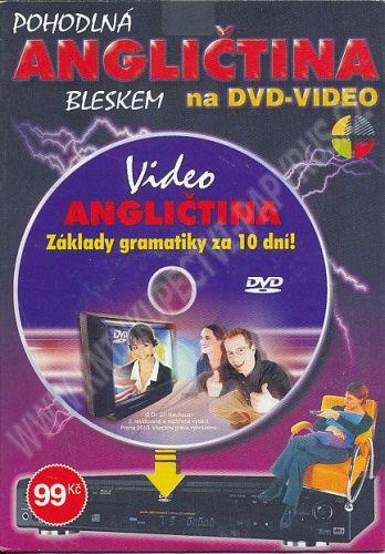 DVD Pohodlná angličtina bleskem na DVD-video cena od 99 Kč