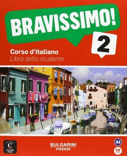 Birello M., Vilagrasa A.: Bravissimo! 2 - Libro dello studente cena od 495 Kč