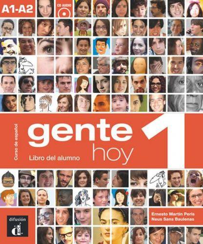 Gente Hoy 1 – Libro del alumno + CD cena od 537 Kč