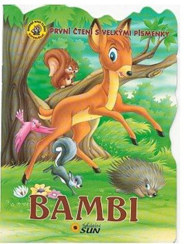 Bambi - První čtení s velkými písmenky cena od 17 Kč