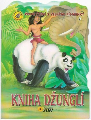 První čtení s velkými písmenky - Kniha džunglí cena od 20 Kč