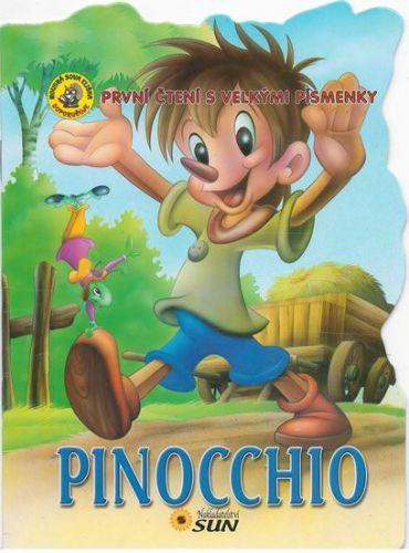 První čtení s velkými písmenky - Pinocchio cena od 15 Kč
