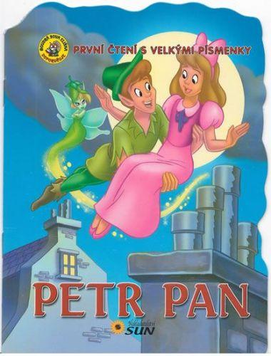 První čtení s velkými písmenky - Petr Pan cena od 15 Kč