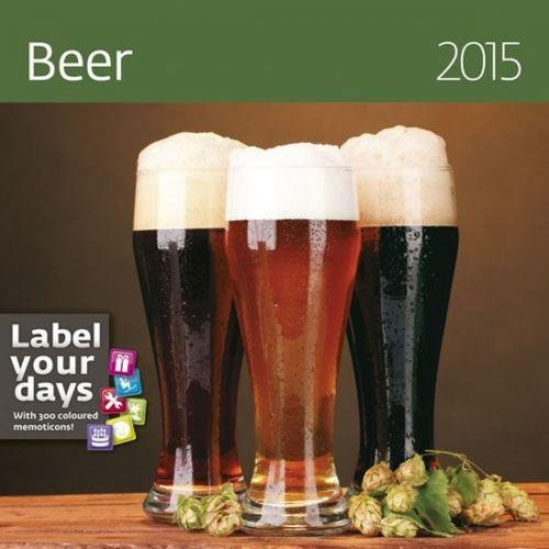Kalendář nástěnný 2015 - Beer cena od 30 Kč
