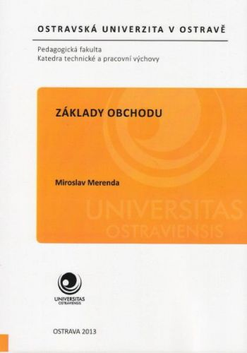 Miroslav Merenda: Základy obchodu cena od 95 Kč