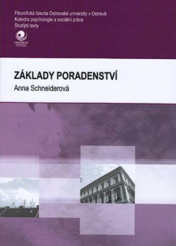 Anna Scheiderová: Základy poradenství cena od 89 Kč
