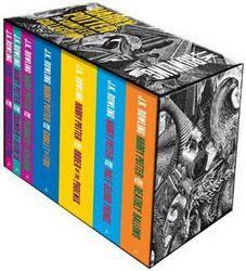 Rowling, Joanne K: Complete Harry Potter Collection (adult edition) cena od 1890 Kč