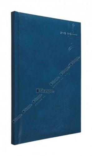 Diář 2014 - Kronos modrý - lesklý denní A5 cena od 44 Kč