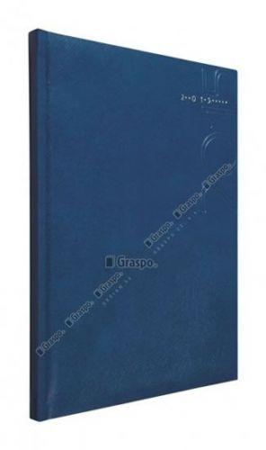 Diář 2014 - Kronos modrý - lesklý týdenní B5 cena od 48 Kč