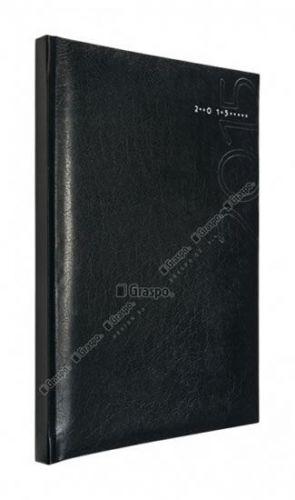 Diář 2014 - Kronos černý - lesklý denní A5 cena od 44 Kč