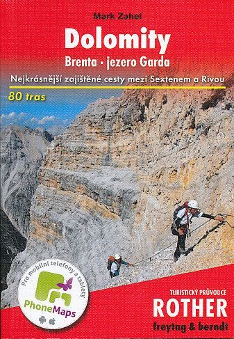 Mark Zahel: Dolomity - Brenta - Jezero Garda cena od 346 Kč
