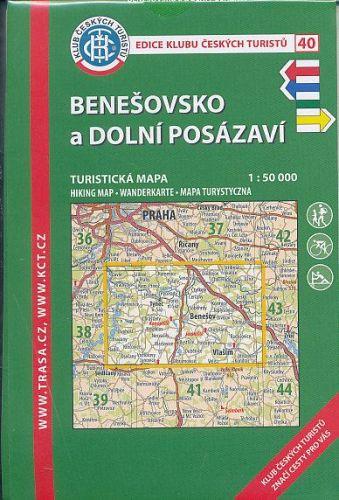 KČT 40 Benešovsko a Dolní Posázaví cena od 80 Kč