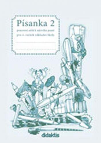 Halasová Jitka: Písanka 2 - 2. díl (pro 2. roč. ZŠ) cena od 35 Kč