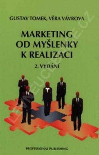 Tomek Gustav: Marketing od myšlenky k realizaci, 2. vydání cena od 317 Kč