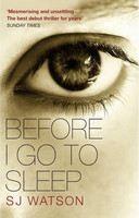 Watson, S J: Before I Go to Sleep (Film) cena od 167 Kč