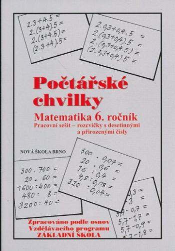 Počtářské chvilky - Matematika 6.ročník cena od 24 Kč