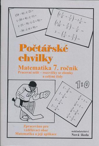 Počtářské chvilky - Matematika 7.ročník cena od 30 Kč