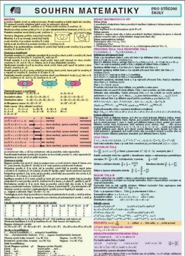 Souhrn matematiky pro střední školy cena od 67 Kč