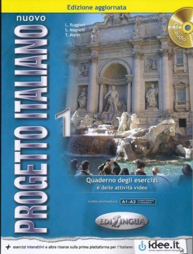 Nuovo Progetto italiano 1 - Quaderno degli Esercizi cena od 233 Kč
