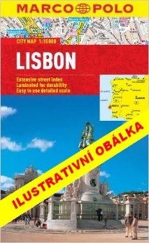 Lisabon/cestovní průvodce s mapou MD cena od 149 Kč