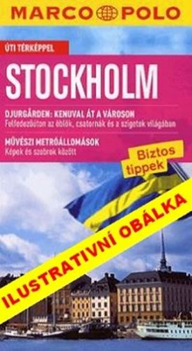 Stockholm/cestovní průvodce s mapou MD cena od 110 Kč