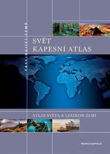 Kapesní atlas světa KUNTH cena od 142 Kč