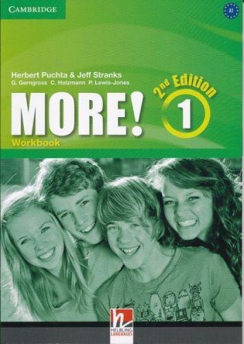 Herbert Puchta&Jeff Stranks: More! Level 1 2E Workbook cena od 217 Kč