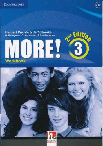 Herbert Puchta&Jeff Stranks: More! Level 3 2E Workbook cena od 217 Kč
