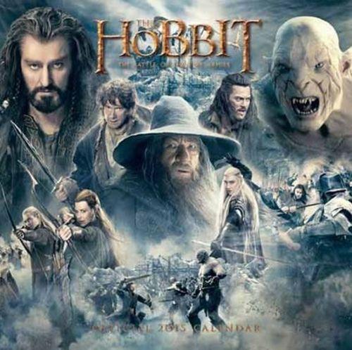 Kalendář 2015 - Hobbit (305x305) cena od 144 Kč
