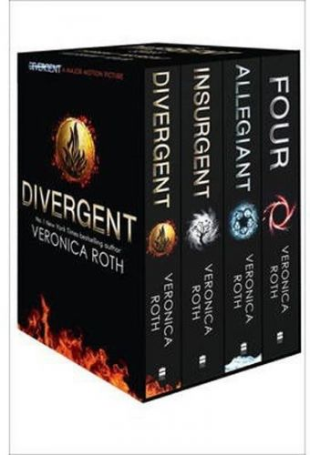 XXL obrazek Roth Veronica: Divergent Series Box Set